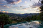 Nido d'Ape:tramonto verso la valle