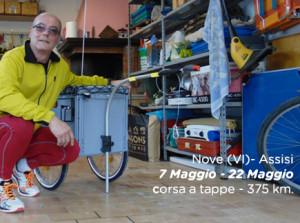 Da Nove-Vicenza ad Assisi. 375 km di corsa per sconfiggere il tumore